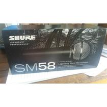 Microfone Shure Sm 58 Original Mexicano A Toda Prova
