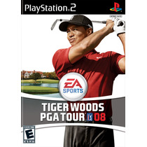 Ea Sport Tiger Woods Pga Tour 08 Ps2 Md Fsc Usado Sem Lacre