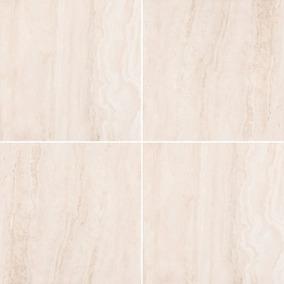 Porcelanato Portobello Travertino Navona Bianco 60x60 Pulido