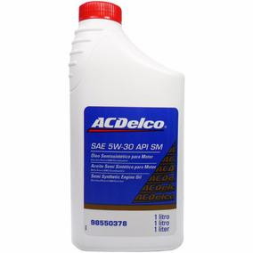 Óleo Motor Acdelco 5w30 Semi Sintético Api Sm 98550378