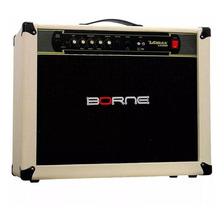 Amplificador Borne Vorax 12100 100w Nata E Dourado 110v/220v