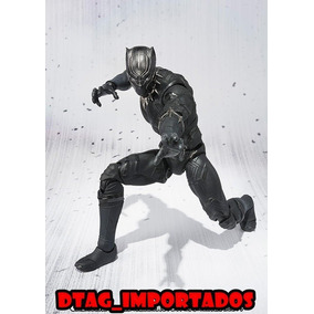 Pantera Negra Black Panther Action Figure Guerra Civil Bonec
