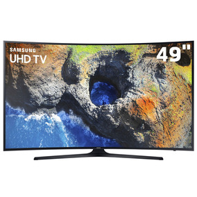 Smarttv 49 4k Curva Samsung 49mu6300 Hdraforma View Espelham