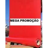 Lona Vinil Pvc Toldo Palco Tatame Tenda 1,40m X 50m Vermelho