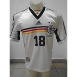Camiseta Selección Alemania Francia 98 1998 Klinsmann #18 M