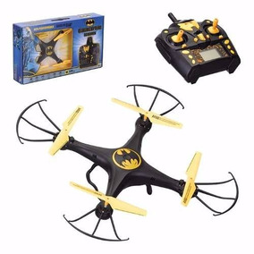 Drone Quadricoptero Batman 4 Canais Controle Remoto