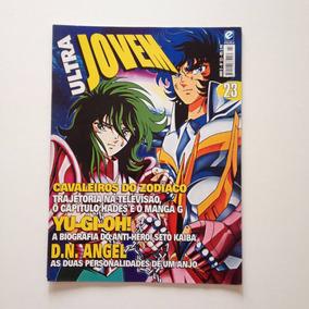 Revista Ultra Jovem Cavaleiros Do Zodíaco Yu Gi Oh N°23