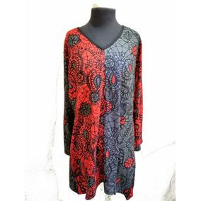 12b5db73551 Vestidos Plus Size Importados Francia 100% Algodon