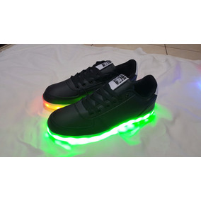 Zapatillas Con Luces Led 10 Colores Usb Unisex