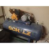 Compressor Schulz 20s/350lt Dois Cabeçotes