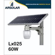 Luminaria Led Solares Sin Sensor De Movimiento 60w