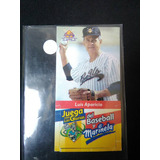 Luis Aparicio Marinela Line Up 1997