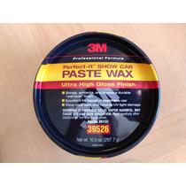 Cera Pasta Wax 3m Importada Americana 297.7g + Kit Polimento
