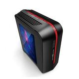Gabinete Game Factor Csg500 Matx Red Usb 3.0 Fan 120mm Gamer