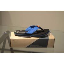Sandália Kenner Classic Original Nk5 - Azul E Preto