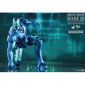 Iron Man Mark 3 Stealth Diecast (comic Com) - 1/6 - Hot Toys