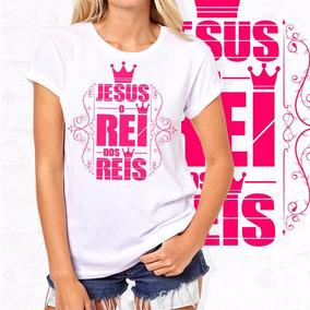 Camisa Gospel Feminina Baby Look Feminina Gospel