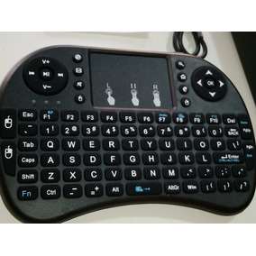 Mini Teclado Inalambrico Computadora Smart Tv Receptor Usb