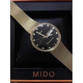 Reloj Mido Commander Automatico M842932813 Dorado Caballero