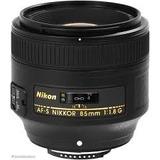 Nikon Af-s Nikkor 85mm F/1.8g Nuevo 2017 + Parasol + Envio