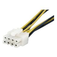 Cable Adaptador Fuente De Poder 4 A 8 Pines Eps Con Lp4 15cm