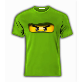 Playera O Camiseta Ninjago Lego Todas Tallas Para Familia!!!