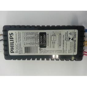 Kit C/10 Reatores Eletr. Basic Philips 2x32w-t8 - 127/220v