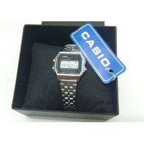 Relógio Aço Cassio Prata +caixa +frete Grátis P/ Todo Brasil
