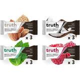 Verdad Bar (prebiótico + Probiótico), 4 Sabores, 12 Bares (v