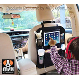 Organizador Auto Asiento Porta Objetos Tablet Ipad Celulares