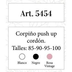 Corpiño Push Up Cordón Cocot (art. 5454)