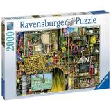 Rompecabezas Ravensburger 2000 Laboratorio Loco Lelab 44184