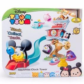 Tsum Tsum Squishies Torre Del Reloj Playset Pluto Pooh