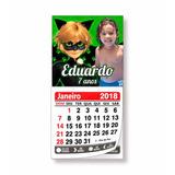 Kit Com 2 Mini Calendários Personalizados - Ímã De Geladeira