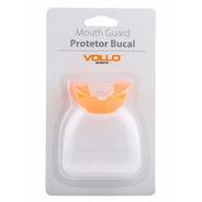 Protetor Bucal Vollo (laranja) + Estojo - Boxe Muay Thai Tkd