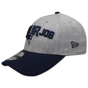 2aa0a62ccc129 Gorra New Era 3930 Nfl 2018 Patriots Draft Gris azul