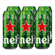 Heineken . Cerveza . 473ml X 6 - Tomate Algo® -
