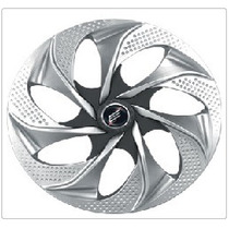 Jogo Calota Aro 14 Modelo Silver/graphite #908415