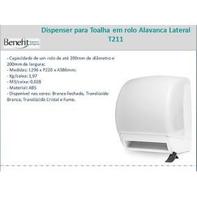 Toalheiro Alavanca Dispenser Suporte P/ Papel Toalha Bobina