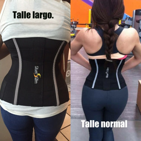 Faja Siluet Slim Talle Largo Colombiana Gym Envio+regalo