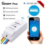 Interruptor Inalámbrico Wifi Con Monitoreo De Energía Sonoff