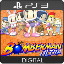 Bomberman Ultra - Jogos Infantil Ps3 - Digital Codigo Psn