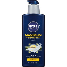 Nivea Menâ® Máxima Hidratación 3 En 1 Loción Nutritiva 16.9