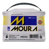 Bateria Moura 60 Amp 18 Meses Garantia Polo Positivo Direiro