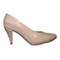 Zapato Dama Tacon Charol Palorosa