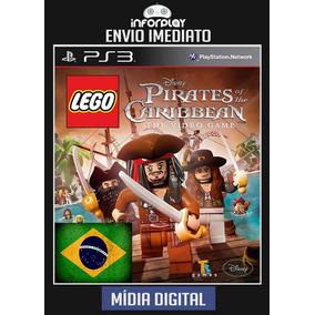 Lego Piratas Do Caribe Pt-br Psn Ps3