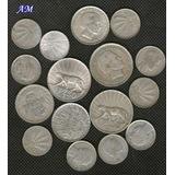 Monedas De Plata .720 De Uruguay (14.50 El Gramo)