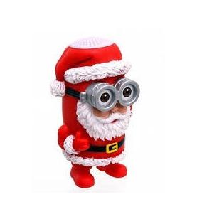 Mini Amplificador De Som Papai Noel