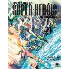 Hq Os Maiores Super-heróis Do Mundo - Capa Dura Panini