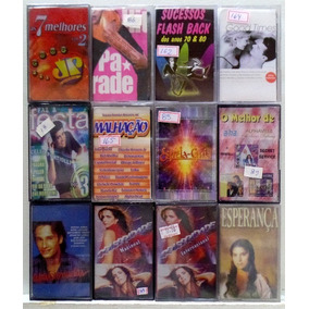 Fitas K7 Internacional / Trilhas Sonoras - Frete R$12